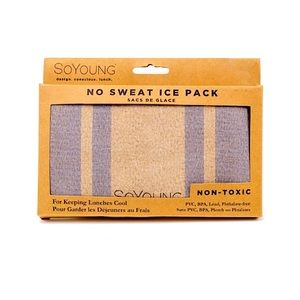 🌈3/$20   INDIGO   NO-Sweat Ice Pack   Stripes